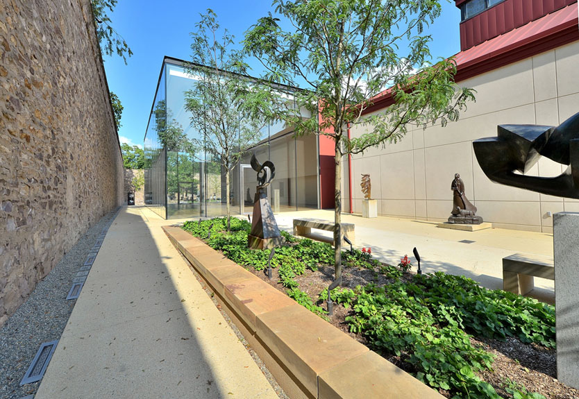 James A. Michener Art Museum Edgar N. Putman Event Pavilion